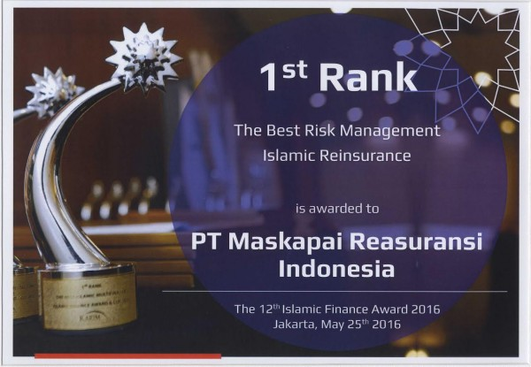 Karim Consulting Indonesia : 1st Rank The Best Risk Management Islamic Reinsurance