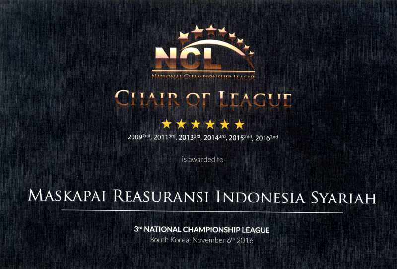 Islamic Finance Award Chair of League