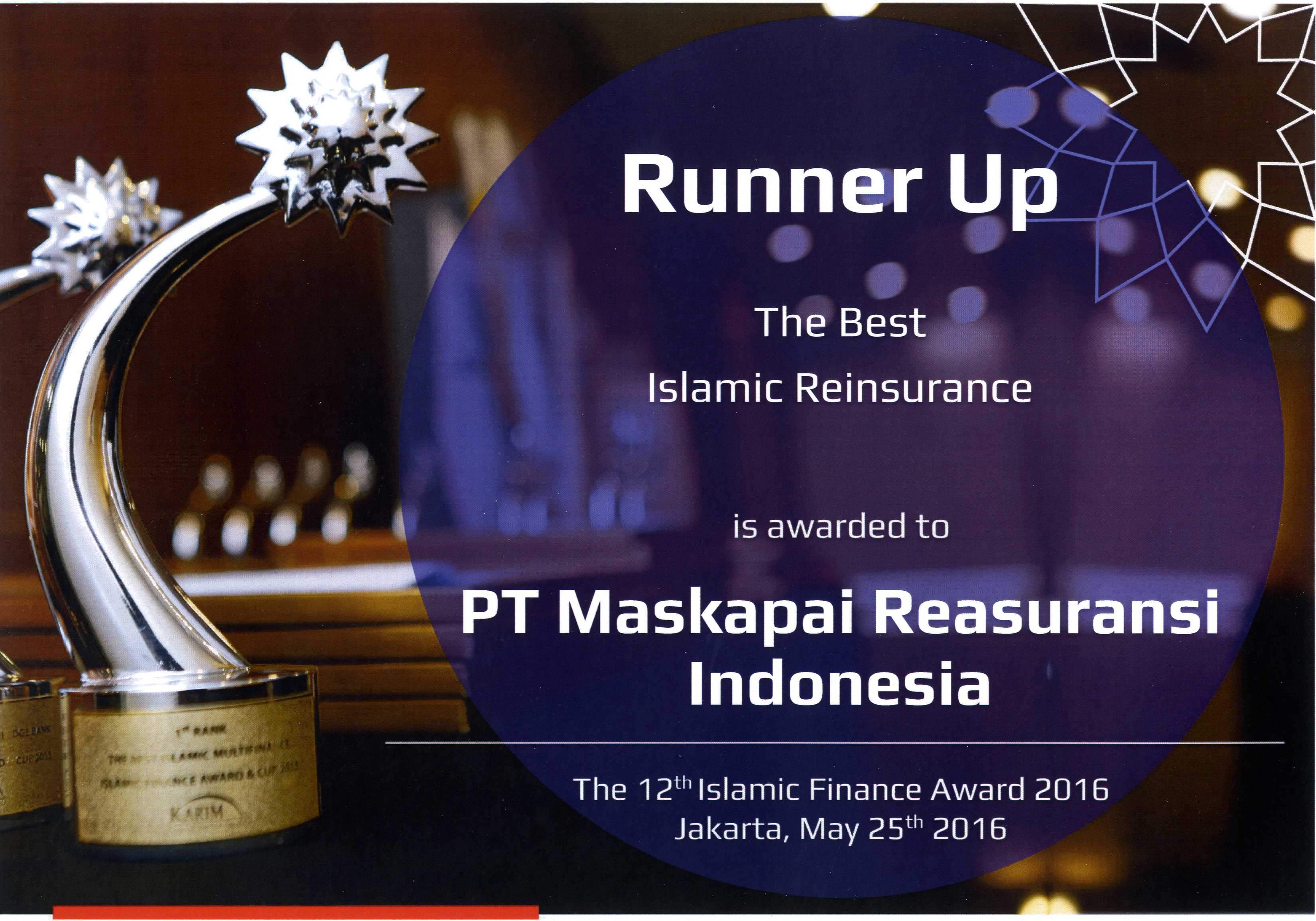 Karim Consulting Indonesia : Runner Up The Best Islamic Reinsurance