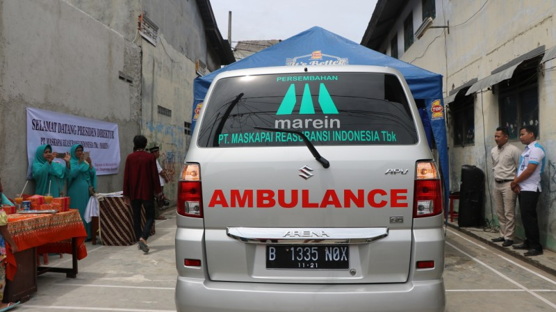 marein-sumbang-ambulance-untuk-yayasan-masjid-al-muhaajiriin